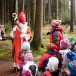 Nikolausfeier im Wald 2012
